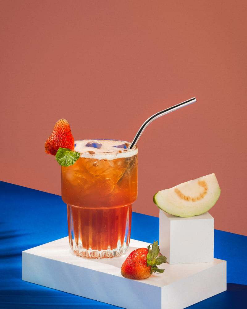 minhatran visuals vietnam commercial photography gallery food photography summer drink set strawberry guava ice tea